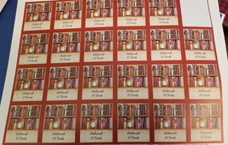 Book labels. Click on image to view larger size in a new window.