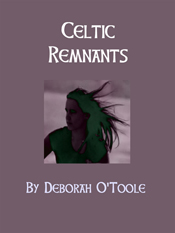 "Purple book cover for ""Celtic Remnants"""
