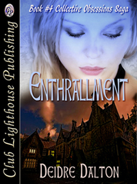 "The new and current cover for the both electronic and print editions of ""Enthrallment"" is my favorite (again designed by T.L. Davison). Click on image to view larger size in a new window."