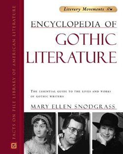 """The Encyclopedia of Gothic Literature"" by Mary Ellen Snodgrass. Click on image to read PDF."
