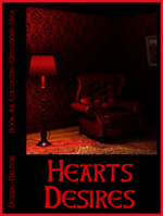 "First ""working"" cover for ""Hearts Desires."" Click on image to view larger size in a new window."