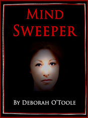 "Final book cover for ""Mind Sweeper."" Click on image to view larger size in a  new window."