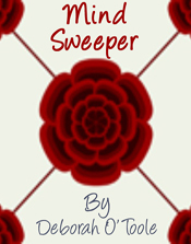 "Alternate book cover for ""Mind Sweeper."" Click on image to view larger size in a  new window."